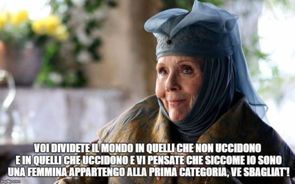 olenna tyrell game of thrones gomorra
