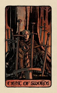 Tarocchi Game of Thrones - Eight of Swords