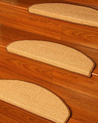 Protect Your Hardwood Stairs With Natural Carpet Game On Mom   Carpet Treads For Hardwood Stairs   Walmart Com   Anti Slip   Staircase Makeover   Walmart   Stair Runners