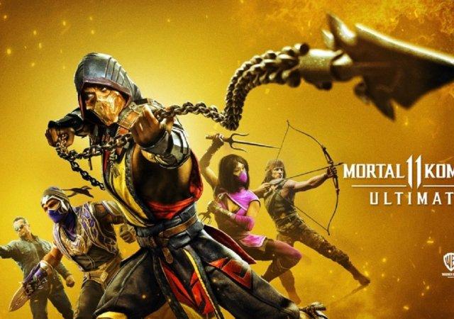 Mortal Kombat 11 Ultimate gameover