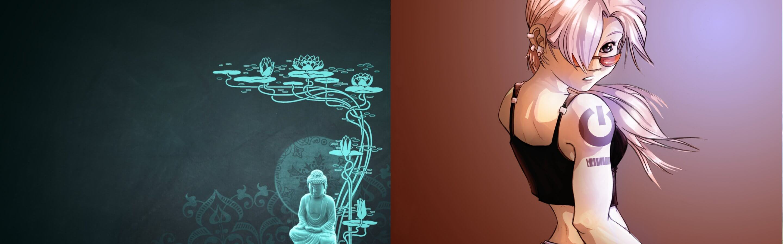 79 anime desktop wallpapers on wallpaperplay. Buddha Anime Girl 4K Wallpaper - GamePhD