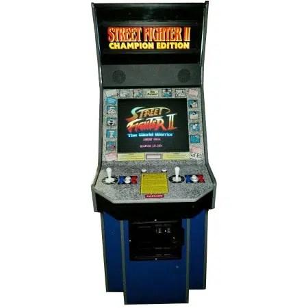 Street Fighter 2 Arcade Fighting Game