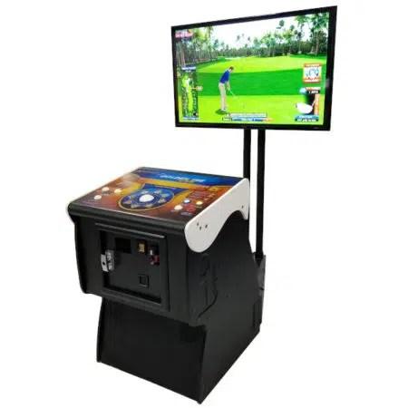 Golden Tee Pedestal Arcade