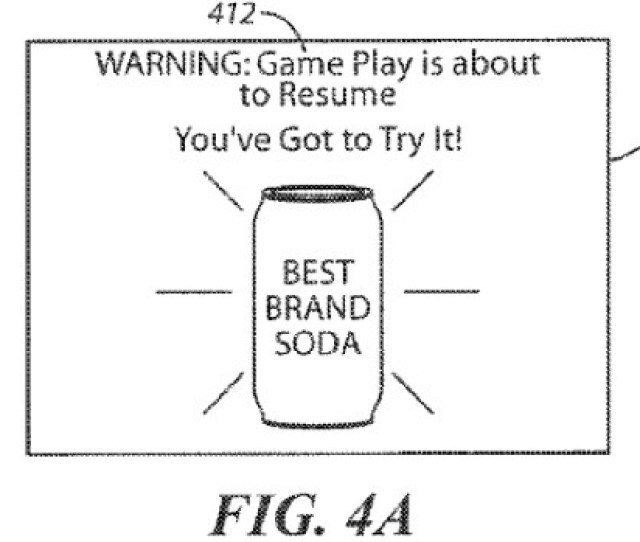 A Patent Was Filed By Sony Computer Entertainment America In 2011 That Would Allow For A Game To Be Suspended In Order To Show An Advertisement