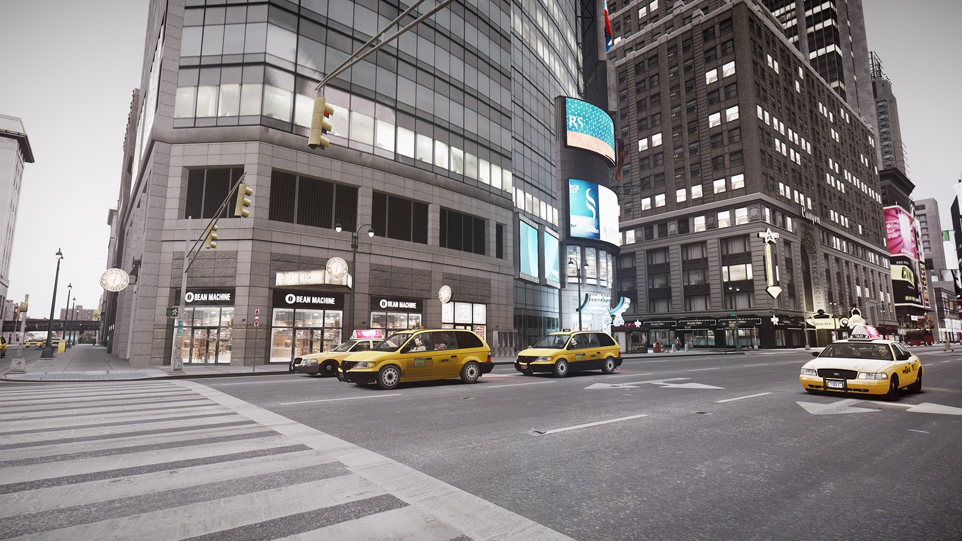GTA IV Gives GTA V Run For Its Money Via Mod PhotoRealistic Graphics Almost Achieved