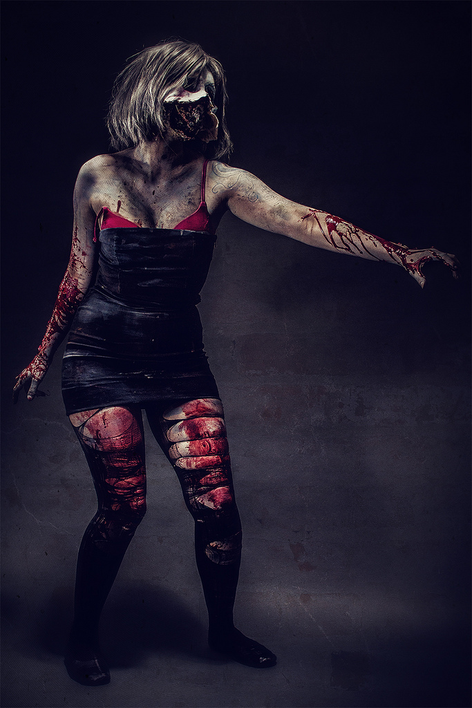 This Is Probably Worlds Scariest Cosplay Ever Sex Doll Monster From Silent Hill Downpour