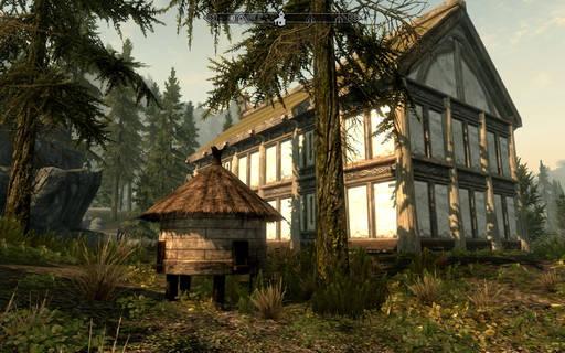 Vanhin vierittää V: Skyrim, - Hearthfire: Miten rakentaa talo Skyrima (Hyde)