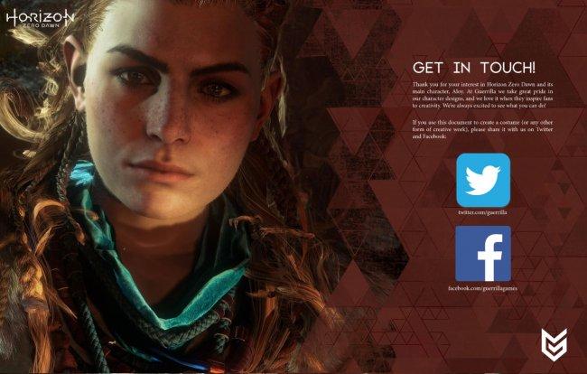 Horizon Zero Dawn Screens Reveal New Character Details