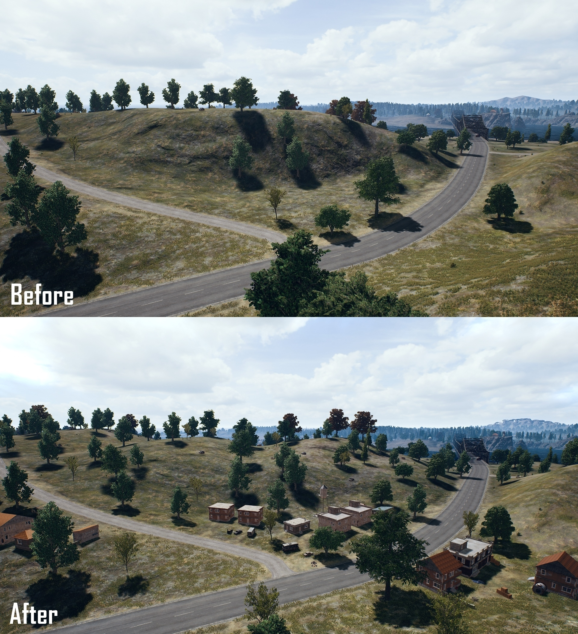 Pictures of PUBG maps Erangel and Miramar get landscape changes 1 1 PUBG