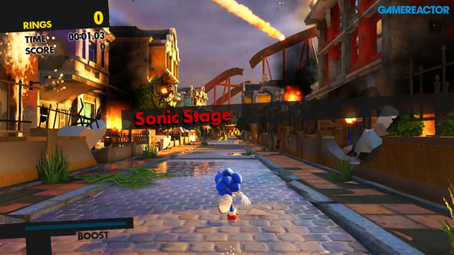 Sonic Forces Modernt Sonic Gameplay Nintendo Switch