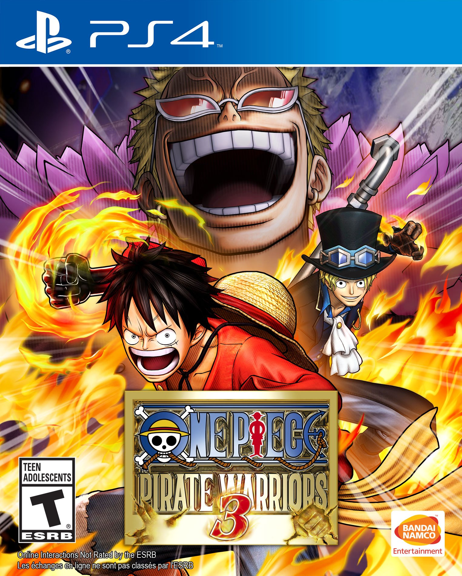 One Piece Pirate Warriors 3 Release Date PS4
