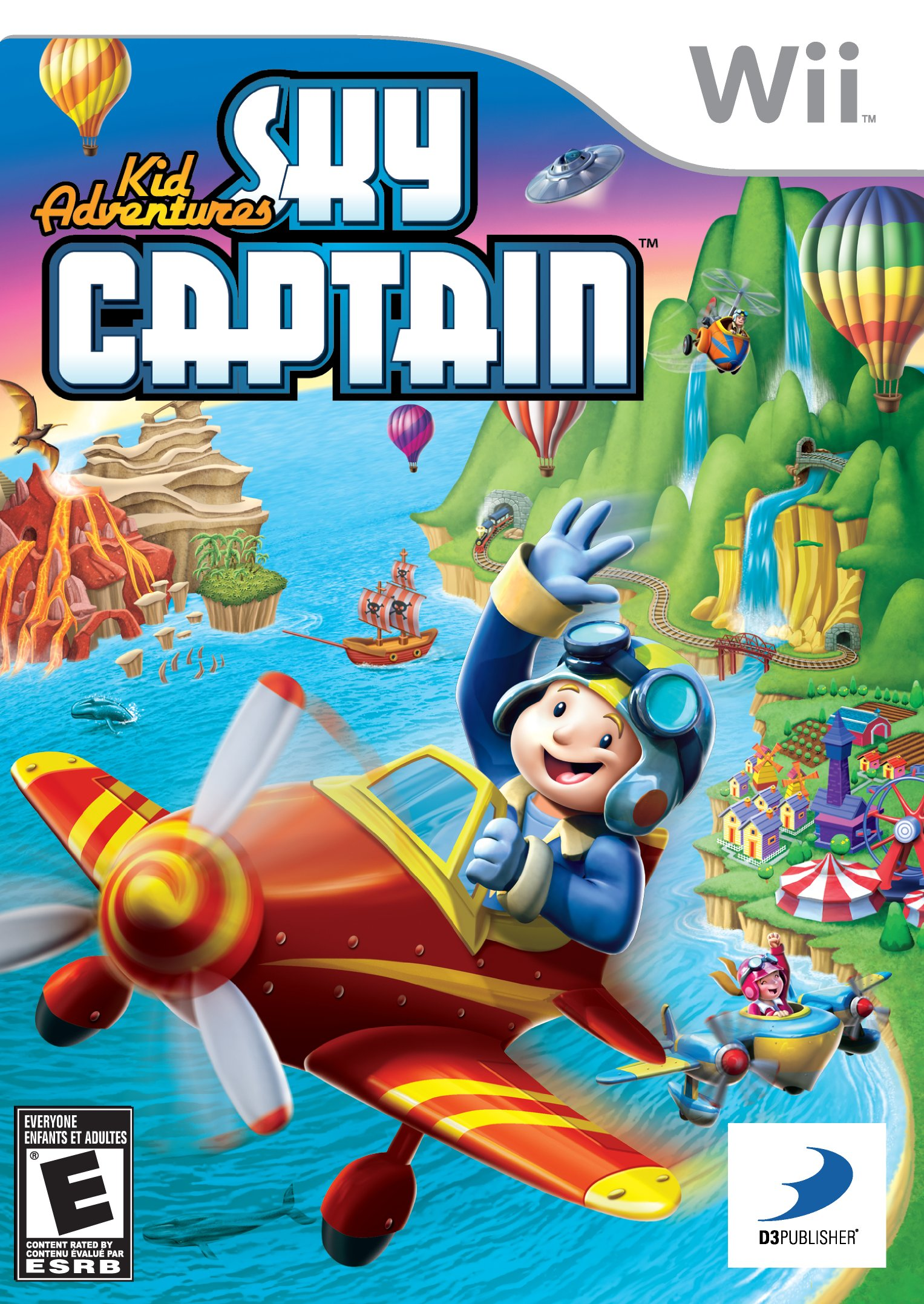 Kid Adventures Sky Captain Release Date Wii
