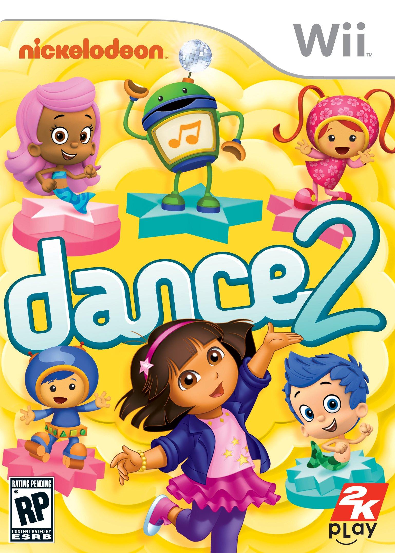 Nickelodeon Dance 2 Release Date Xbox 360 Wii