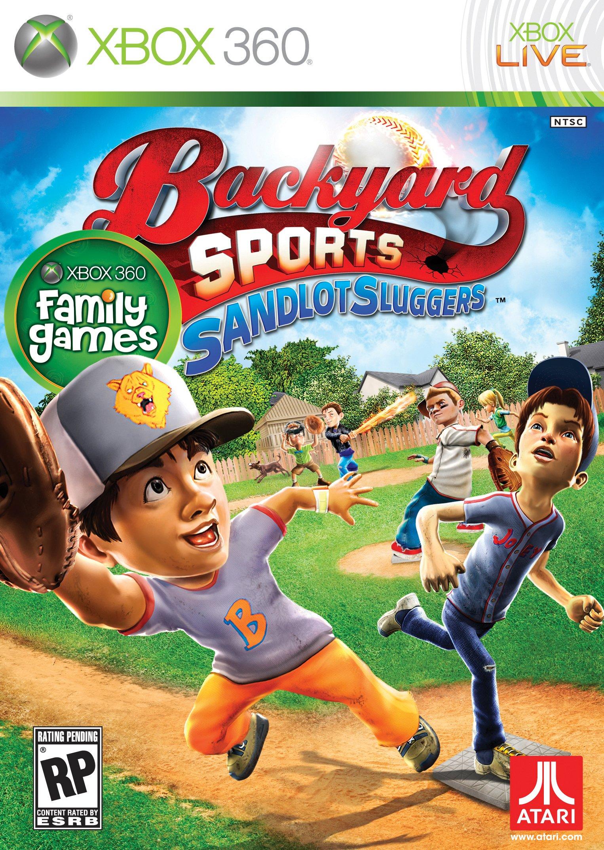 Backyard Sports Sandlot Sluggers Release Date Xbox 360 DS