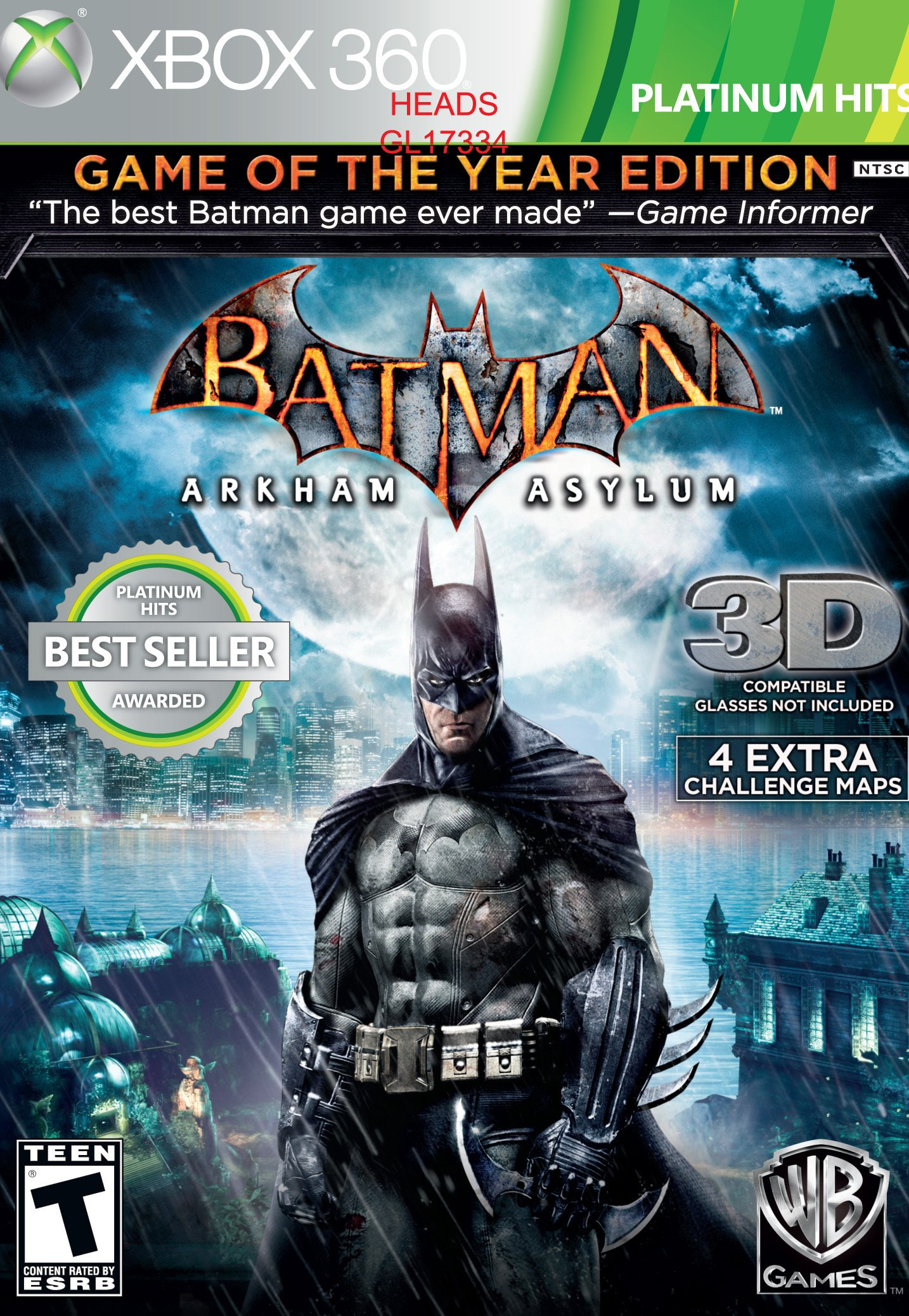 Batman Arkham Asylum Game Of The Year Greatest Hits Release Date Xbox 360 PS3