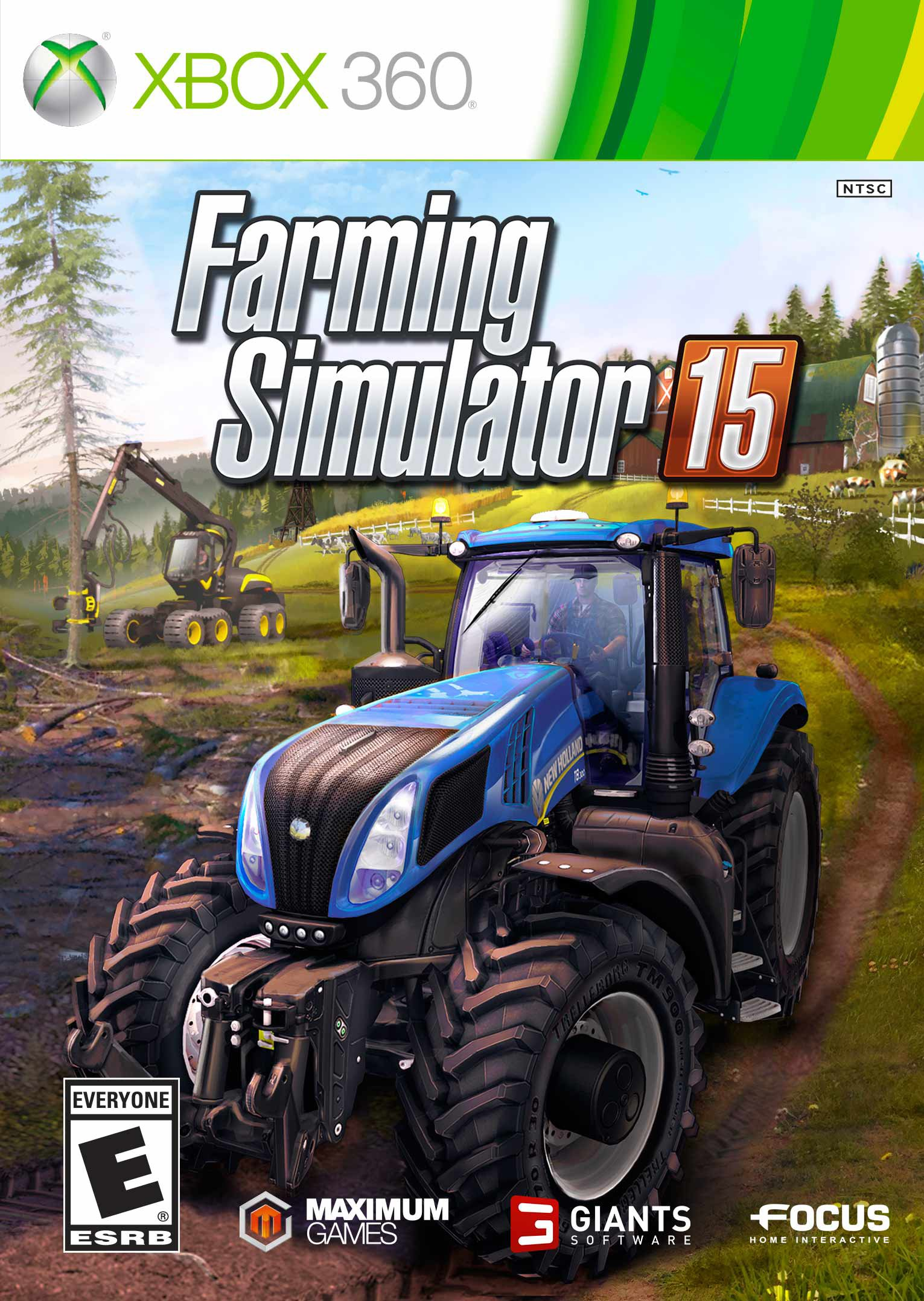 Farming Simulator 15 Release Date Xbox 360 PS3 Xbox One