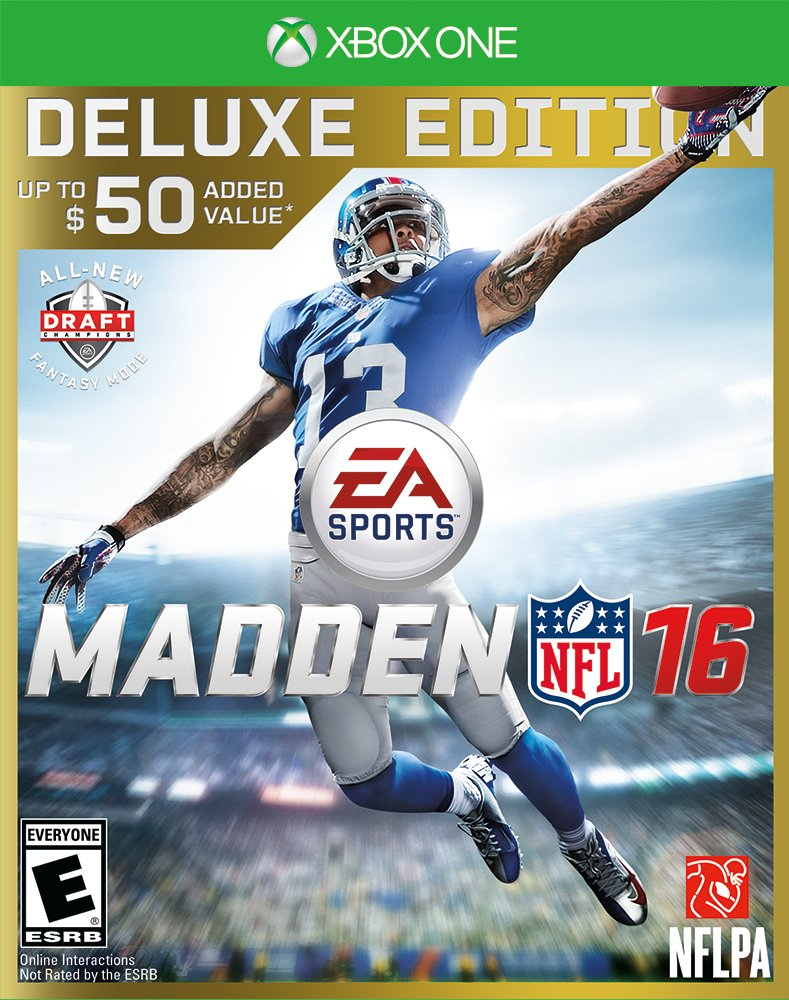 Madden NFL 16 Deluxe Edition Release Date Xbox 360 PS3 Xbox One PS4