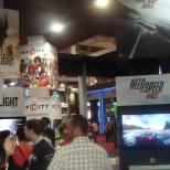 Need for Speed Rivals apareceu primeiro apenas em vídeo, depois rolou até gameplay no estande da Warner Games.