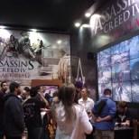 Assassins Creed IV: Black Flag também estava na feira para os adoradores da boa e velha pirataria.