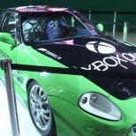 """Olha a """"caranga"""" que estava no estande da Microsoft."""