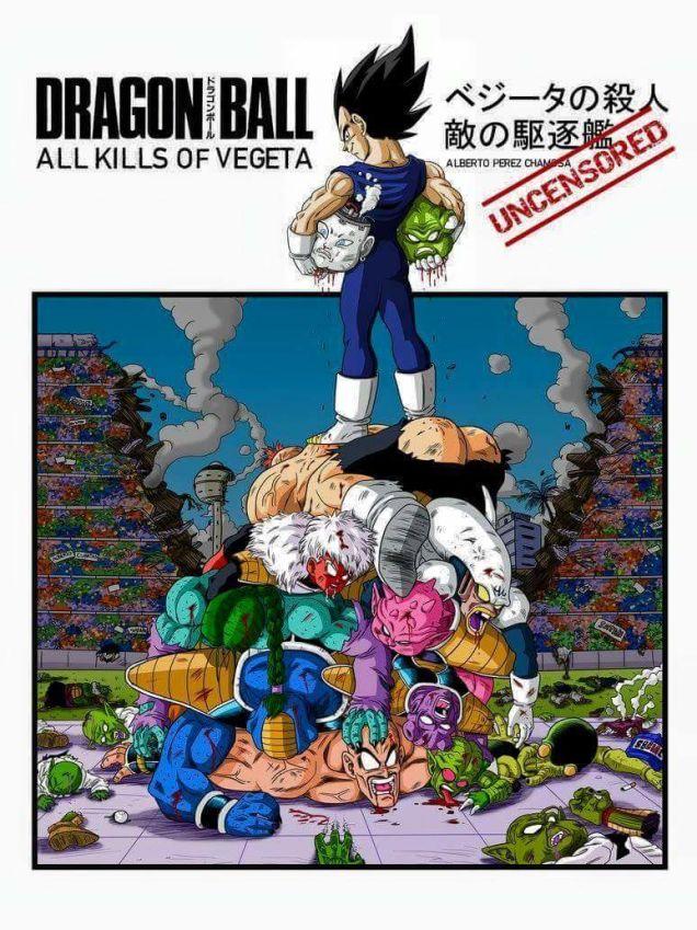¿Cuántos enemigos mató cada héroe de Dragon Ball?