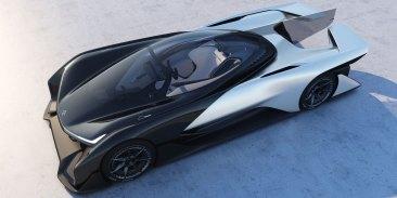 Faraday Future FFZERO1 Concept Car CES 2016 2