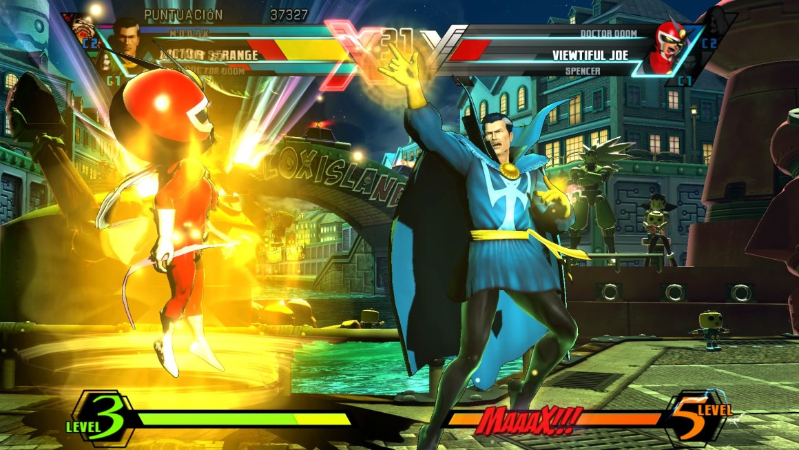 Ultimate Marvel vs. Capcom 3 - Doctor Strange