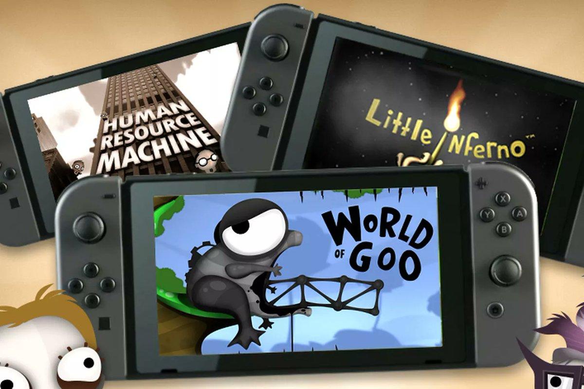 Switch: tráilers de World of Goo, Little Inferno y Human Resource Machine