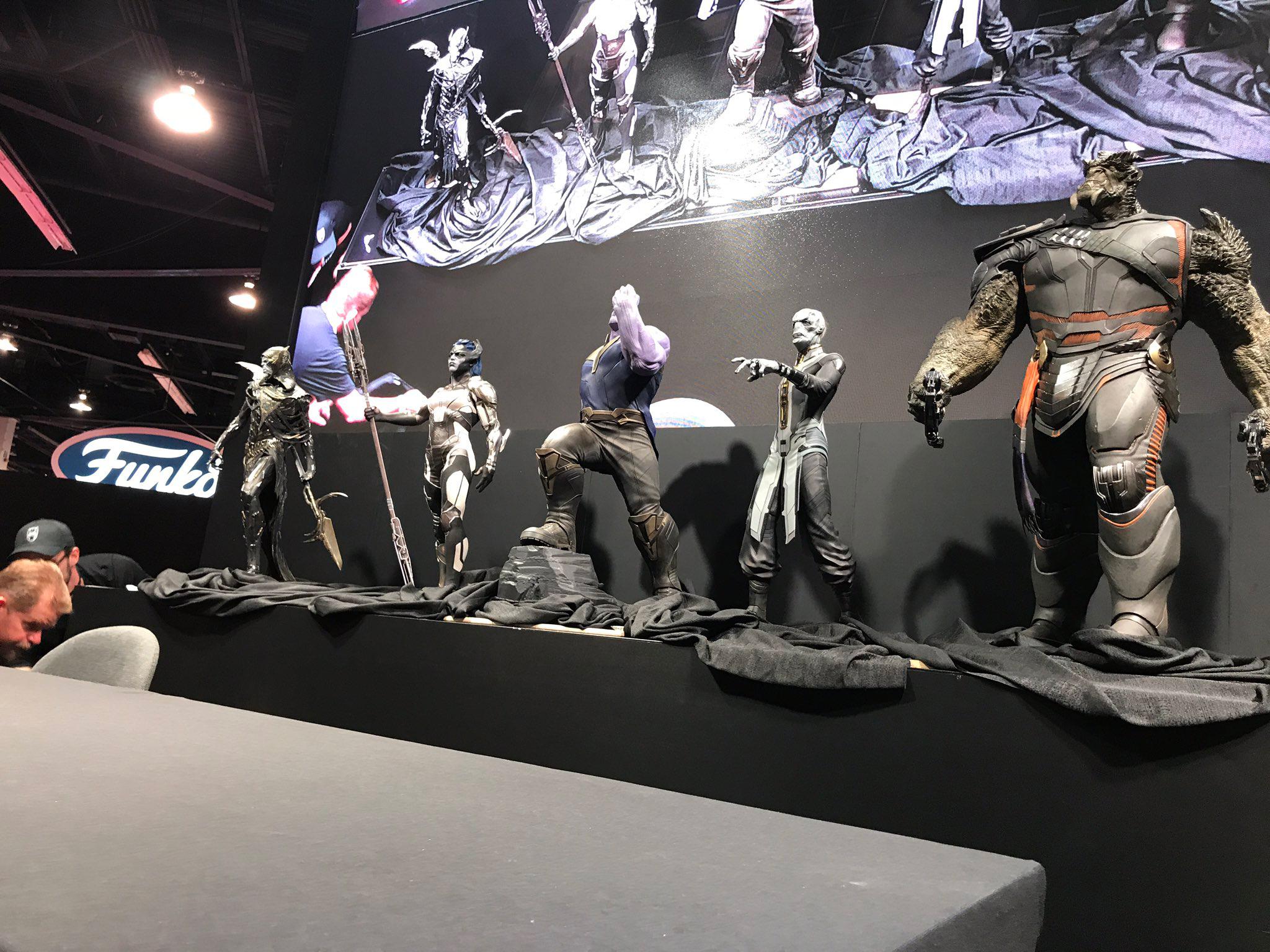 Se muestra un tráiler de Avengers: Infinity War durante la D23 Expo