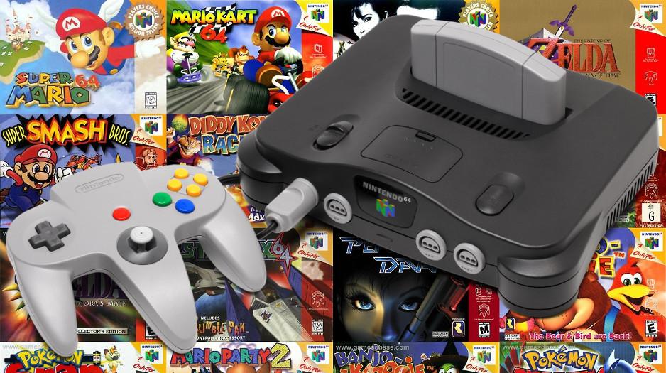 Nintendo podría lanzar el nuevo Nintendo 64 Mini muy pronto