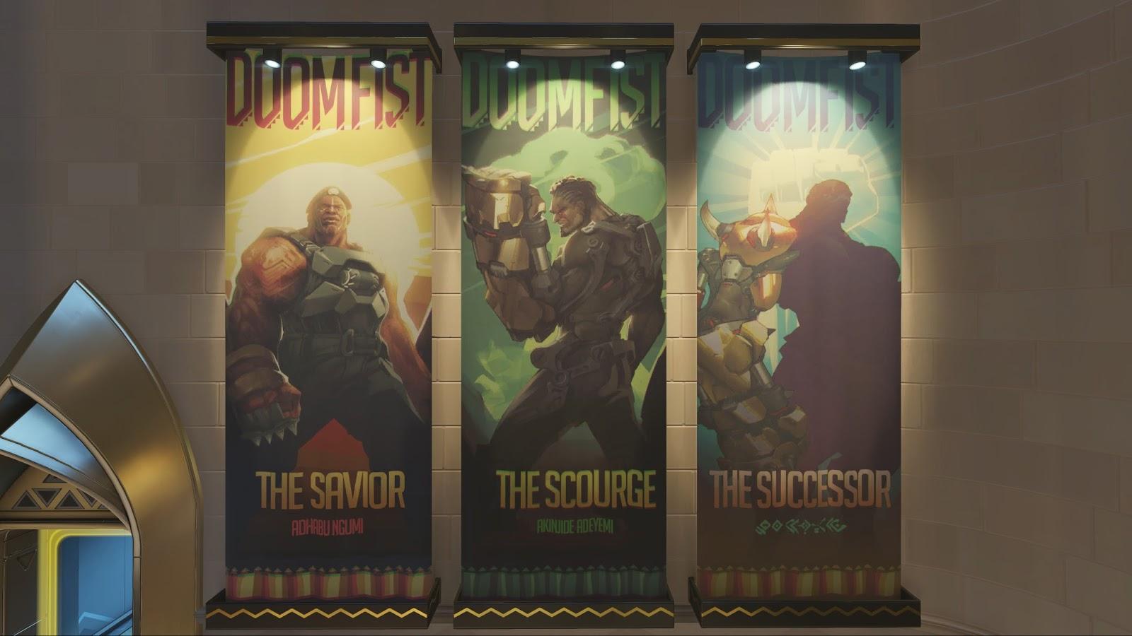 Doomfist por fin llega a Overwatch