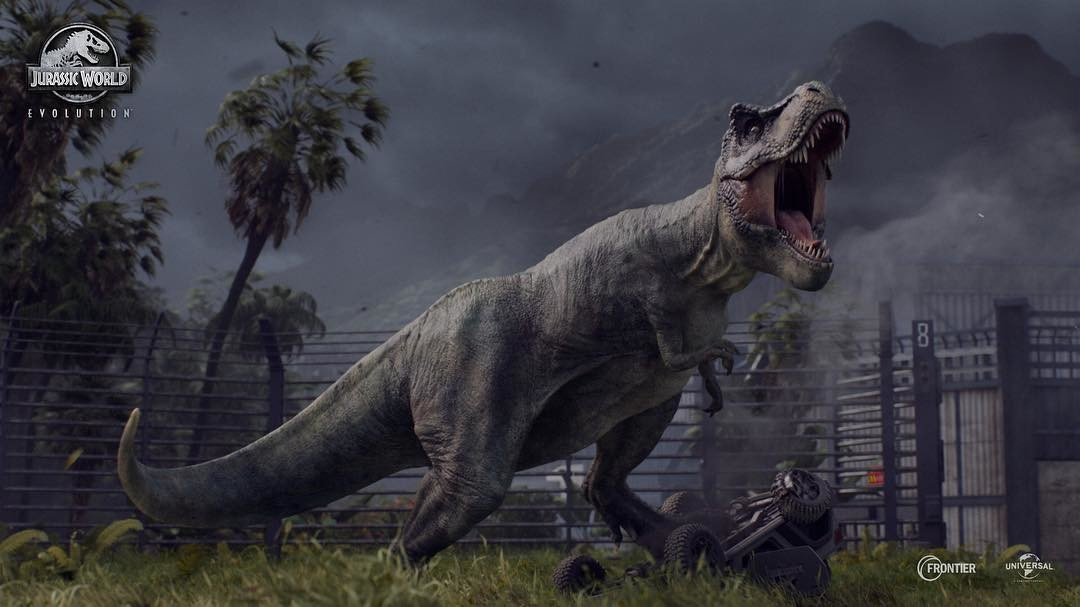 [#Gamescom17] Jurassic World Evolution: Zoo Tycoon con dinosaurios