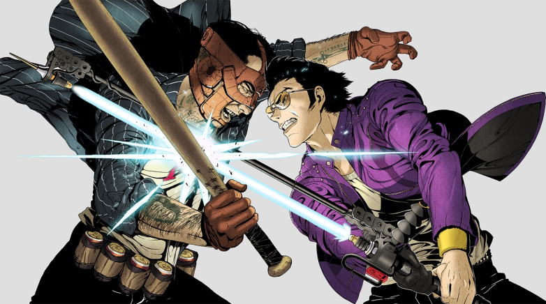 Mira este nuevo arte de No More Heroes: Travis Strikes Again