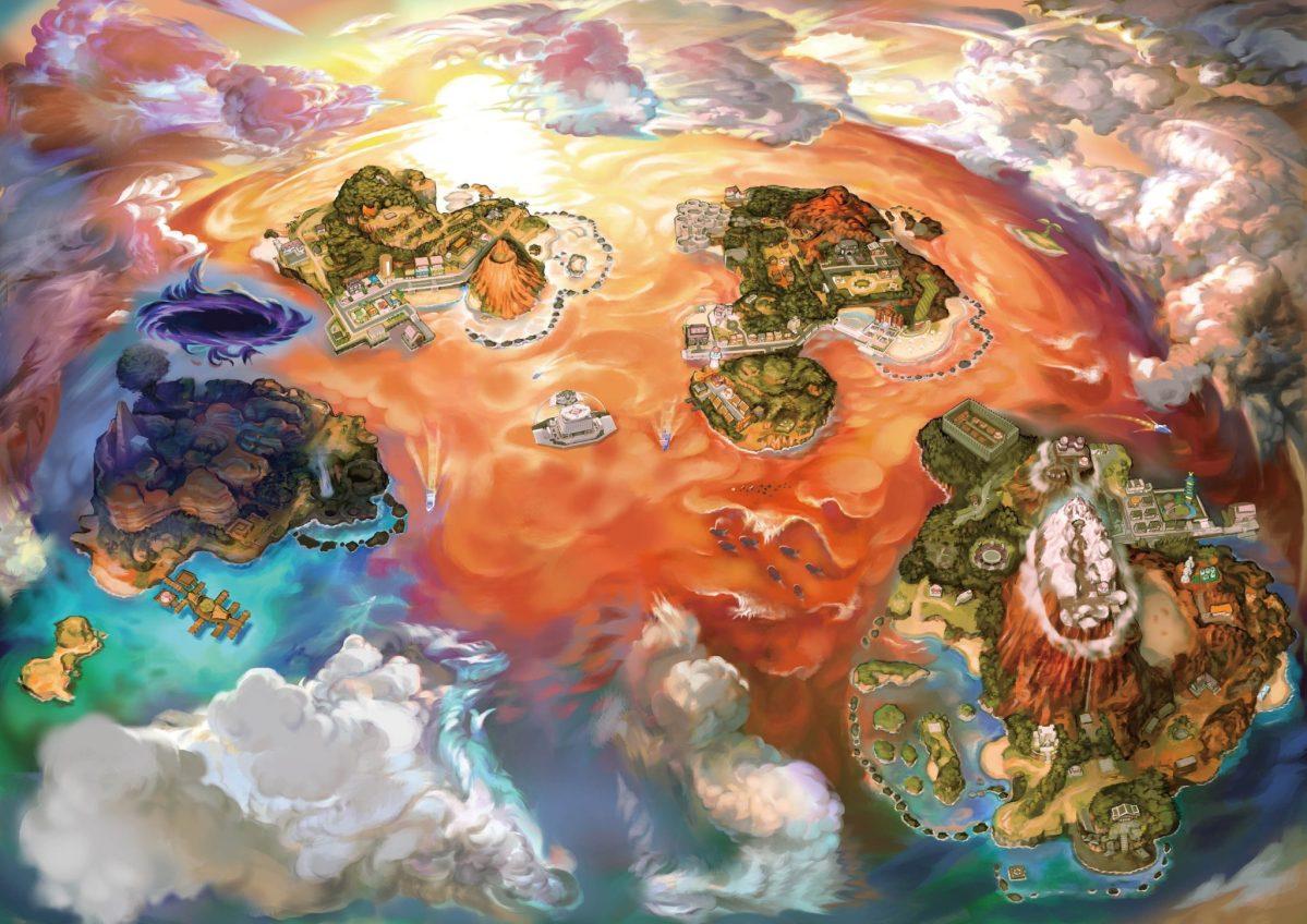 La alterada región Alola de Pokémon Ultra Sun/Ultra Moon