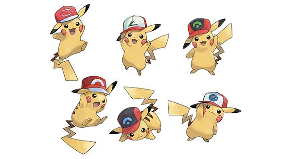 Pokémon Sun/Moon: comienza la distribución de Pikachu con gorras de Ash