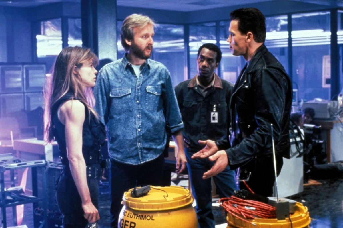 Terminator '6' reunirá a Linda Hamilton, Arnold Schwarzenegger y James Cameron