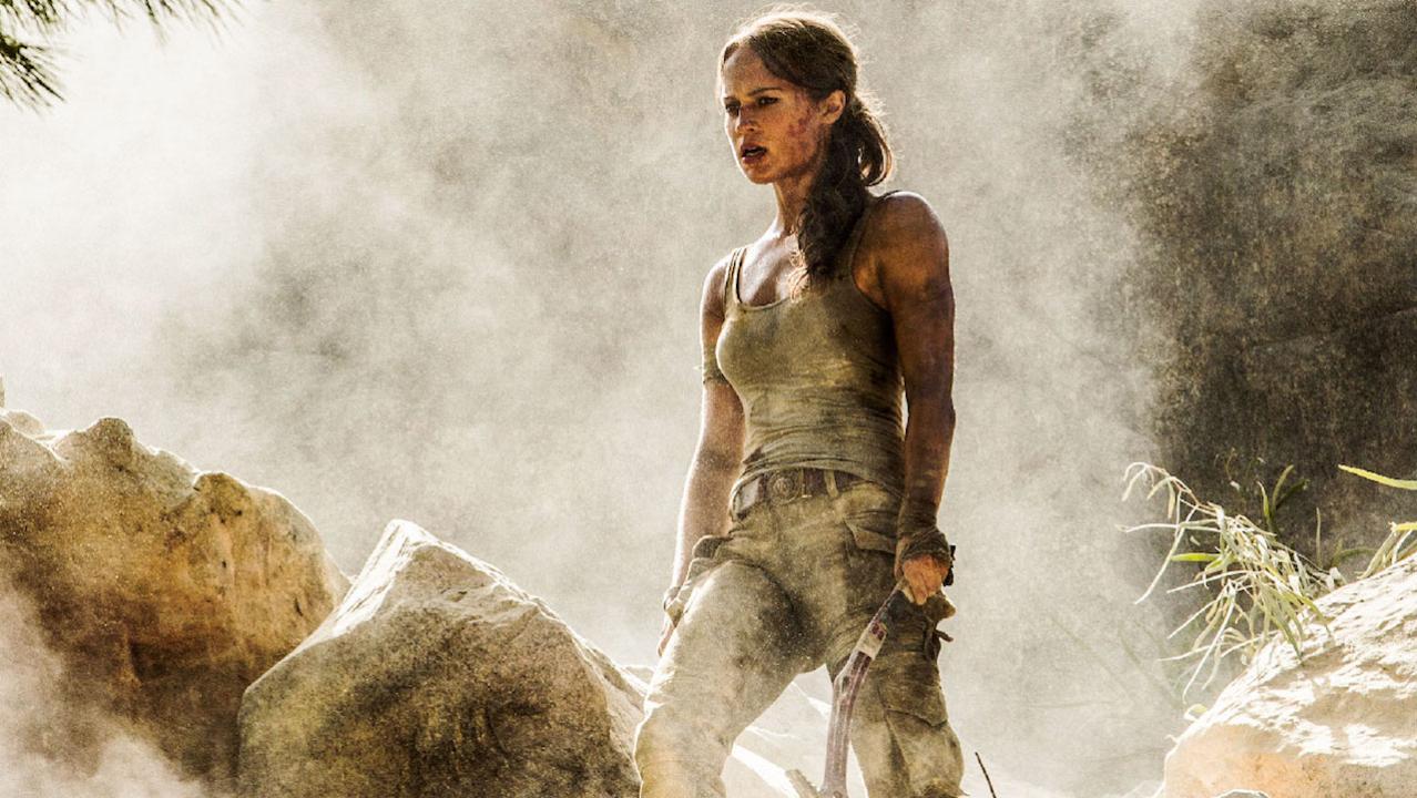 Lara Croft muestra sus habilidades en tráiler de Tom Raider