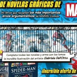 60 novelas gráficas de Marvel a un precio poco generoso