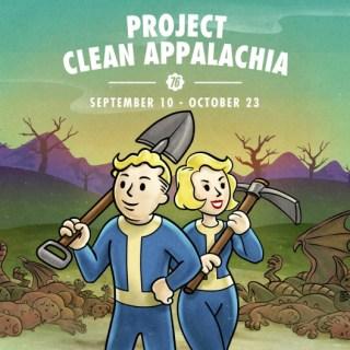 Fallout 76: el evento Proyecto Limpiar Appalachia ya está activo