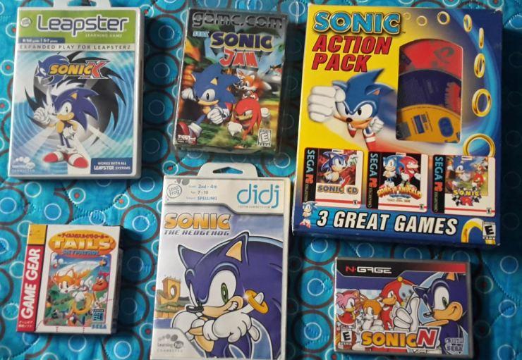 Sonic - juegos raros