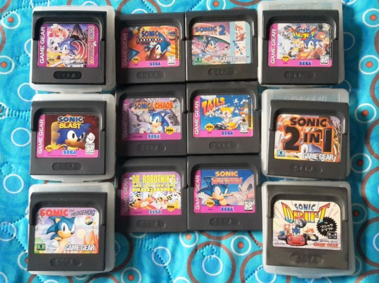 Sonic - juegos Game Gear