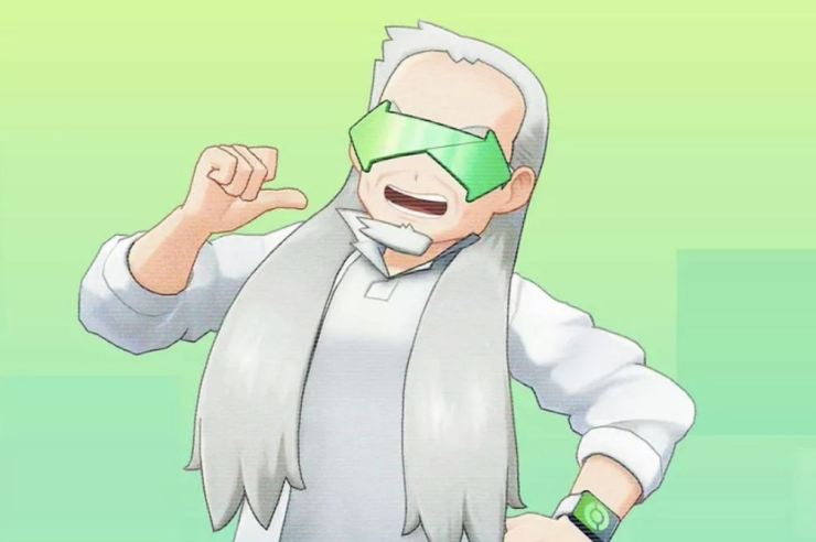 Pokémon Home Profesor Gran Oak