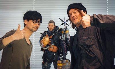 Hideo Kojima Norman Reedus