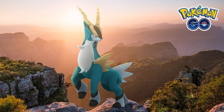 Pokémon GO incursion Cobalion