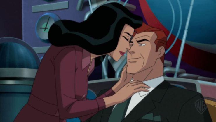 Lois y Lex en Superman: Red Son