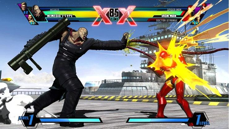 Nemesis en Ultimate Marvel vs Capcom 3