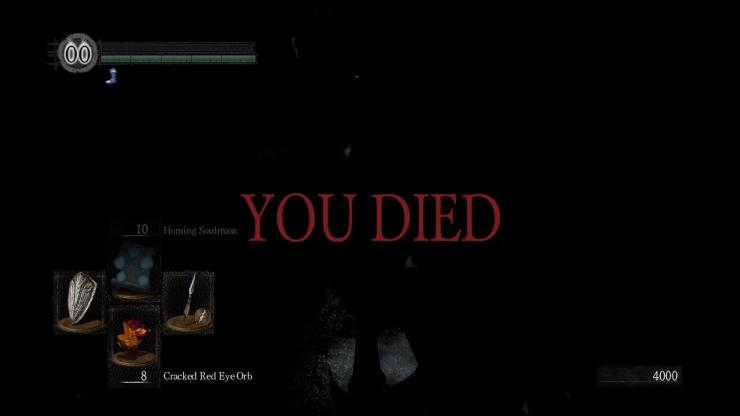 Dark Souls You Died