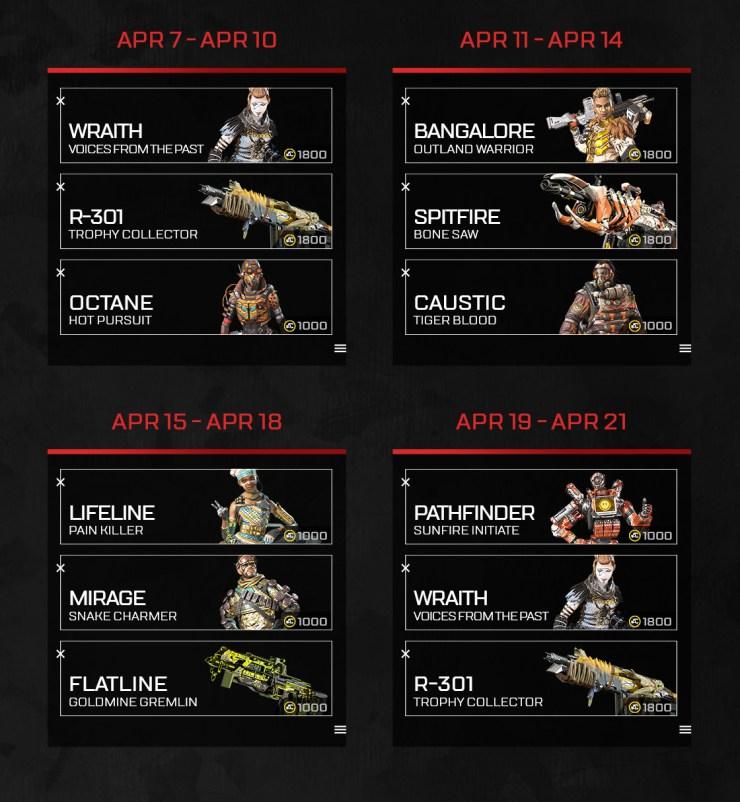 Apex Legends Abril