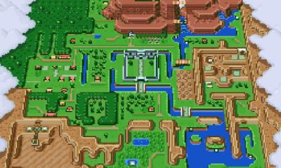Zelda mapa Animal Crossing