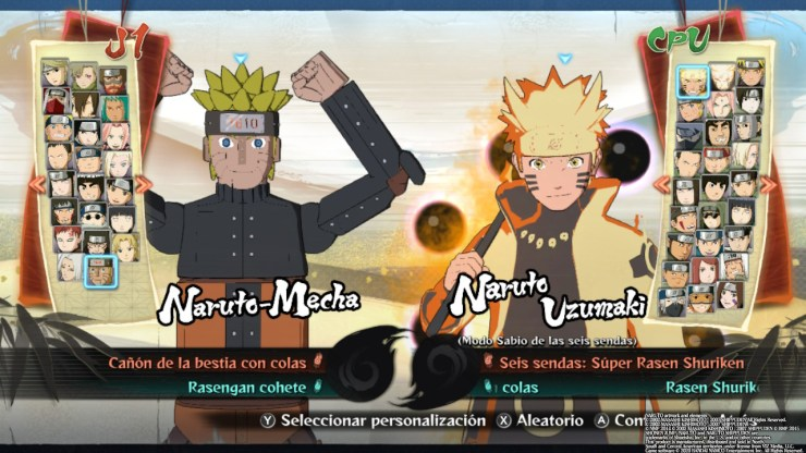 Ultimate Ninja Storm 4 - Road to Boruto personajes